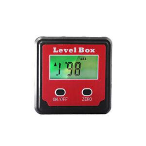 3 Keys Digital Display Inclinometer Inclination Box Home Goniometer Angle Meter