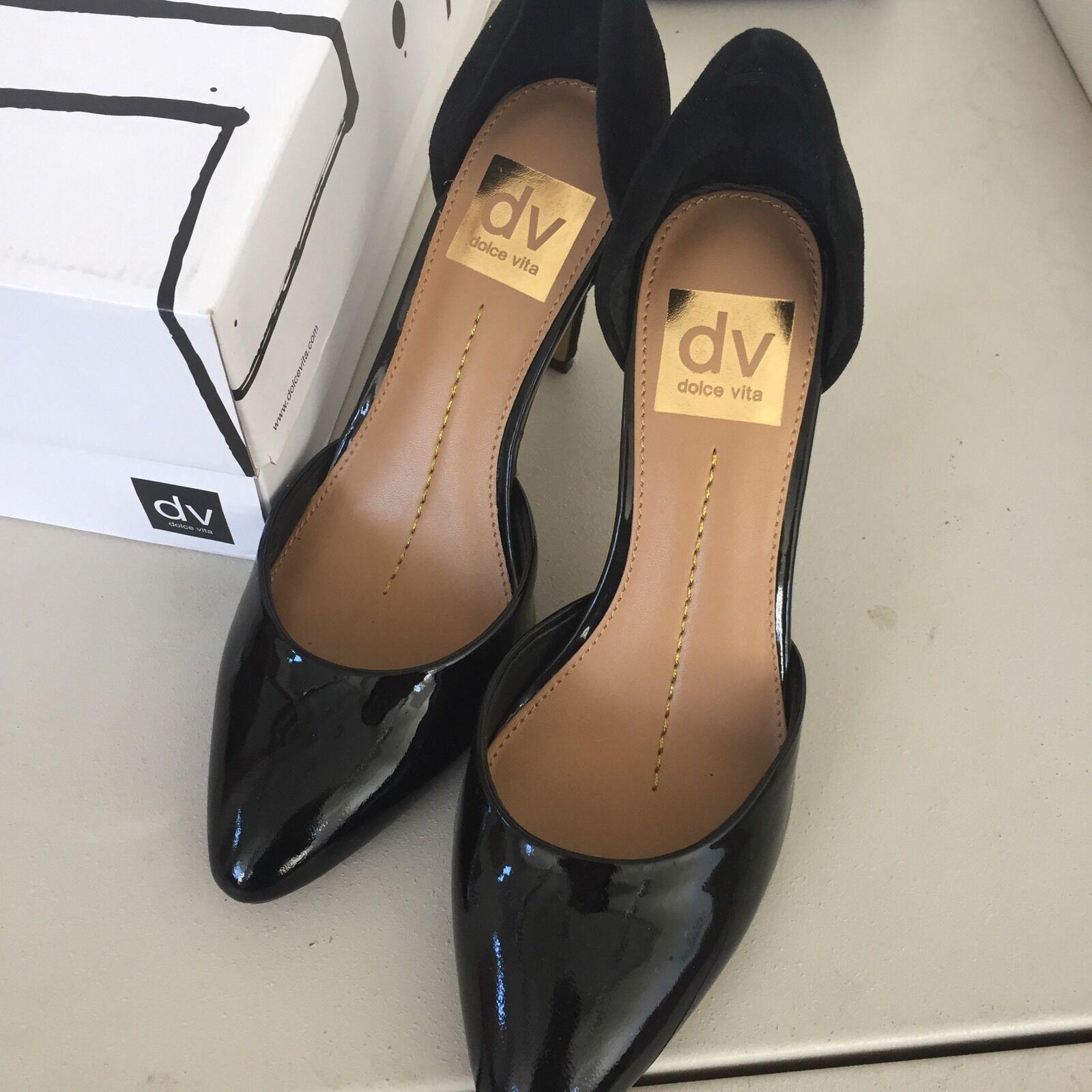 Dolce Vita Women Women Women Leather Black High Heels Size 6 4c9188