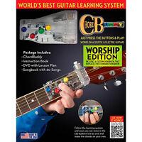 Chordbuddy Worship Ed. Guitar Learning System Including Book / Dvd & Chord Buddy