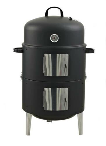 Räucherofen Smoker XL 3 in 1 Watersmoker BBQ Grill Feuerstelle Wagner RS400