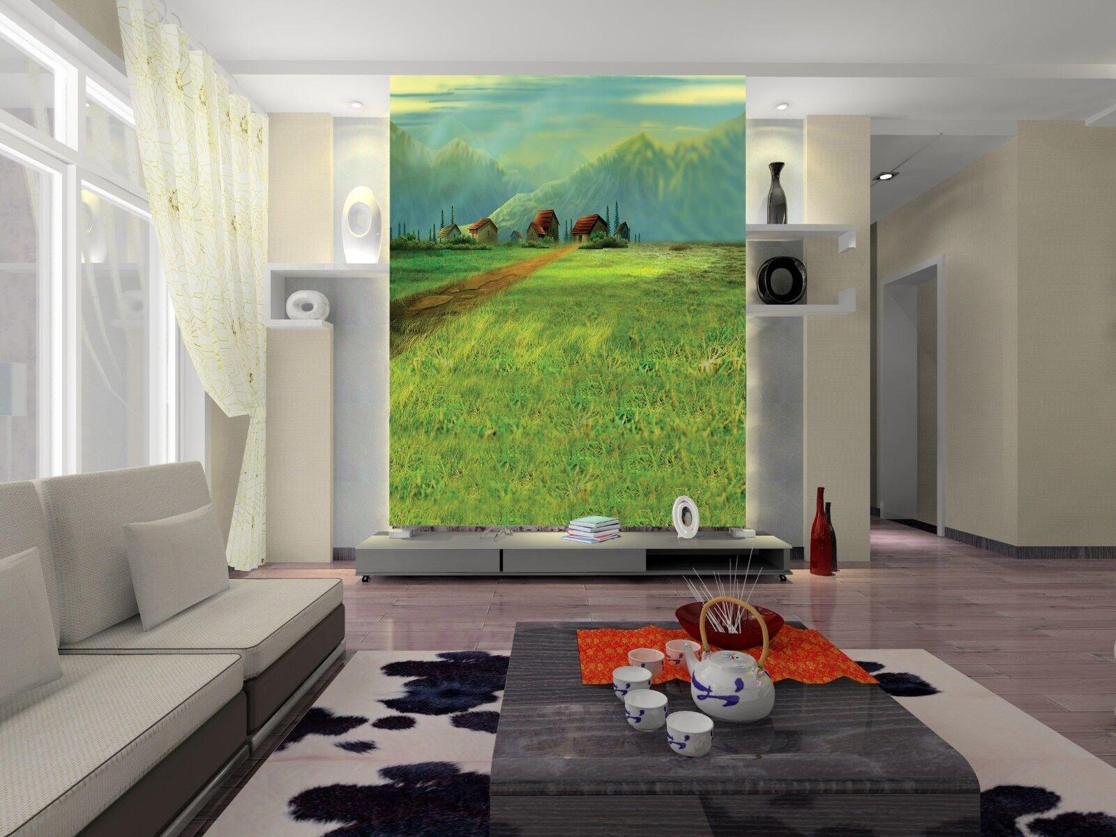 3D Berg Herde Gemälde 69 Tapete Tapeten Mauer Foto Familie Tapete Wandgemälde DE