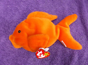 646c17180b0 Image is loading TY-Beanie-Babies-Goldie-The-Goldfish-retired-with-