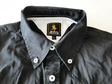 Royal Berkshire Polo Club Herren Hemd Langarm Schwarz Unifarben Gr. L TOP!