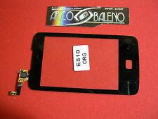 Kit VETRO+TOUCH SCREEN per LG E510 OPTIMUS HUB NERO ORIGINALE NUOVO DISPLAY LCD