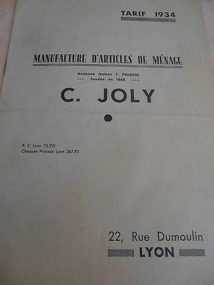 Manufacture articles de menage C.JOLY