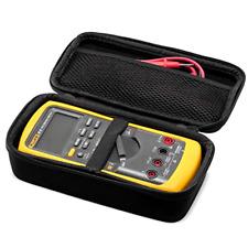 Hard Case Travel Storage Mesh Pocket Black For Fluke 87 V Digital Multimeter