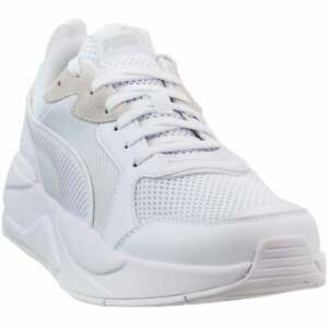 Puma-X-Ray-Lace-Up-Mens-Sneakers-Shoes-Casual-White