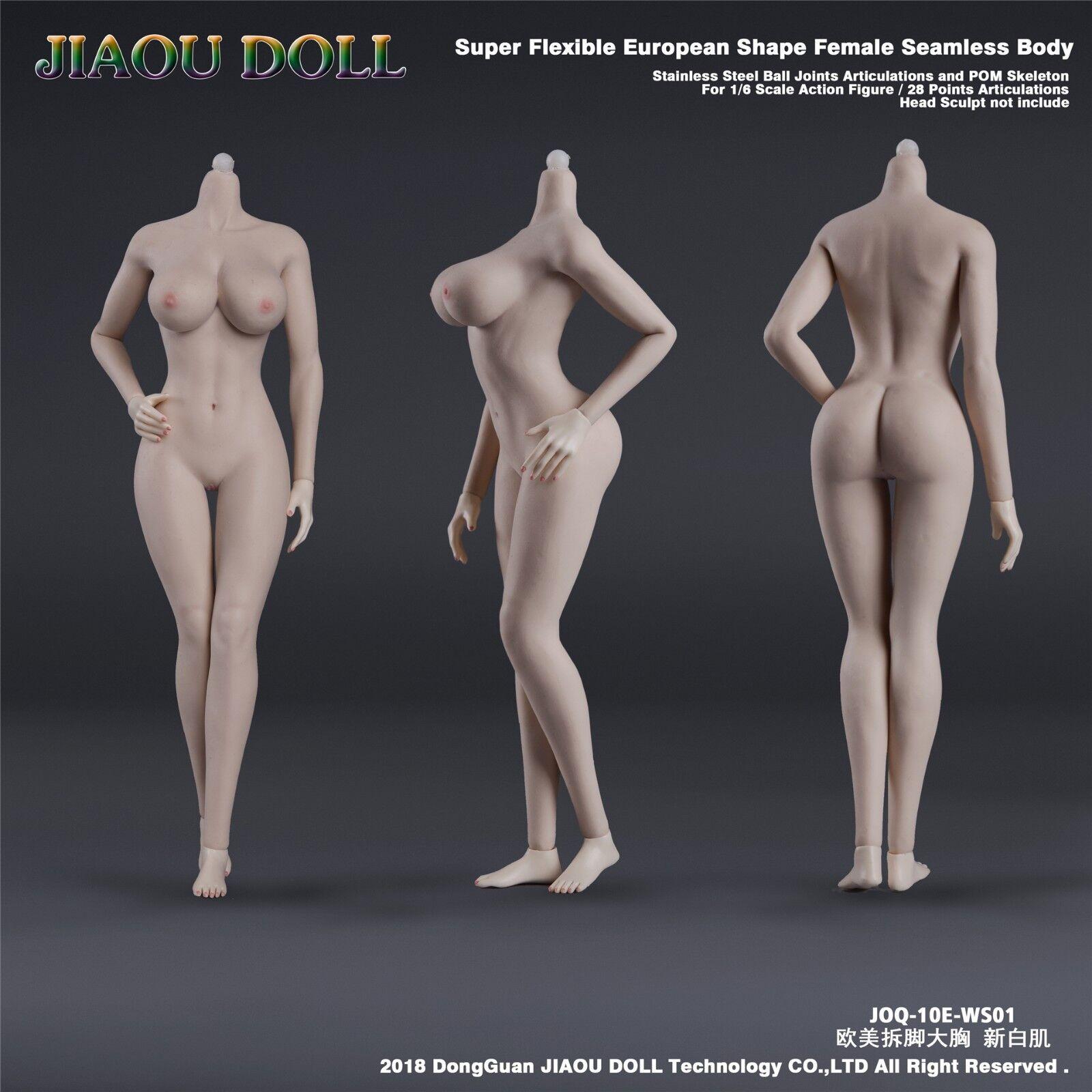JIAOU DOLL 1 1 1 6 Female European Shape Big Bust Snow white Figure JOQ-10E-WS01 ace186