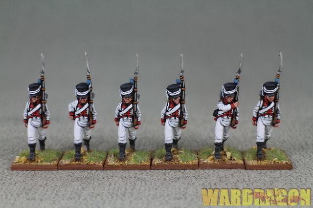 Napoleonische wds malte königreich holland kh 3 r53 füsiliere.