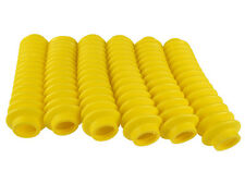 6 Shock Boots YELLOW Fits Most Shocks for Jeep Universal Off Road Vehicles
