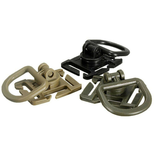 10 pcs MOLLE Sternum Strap System Swivel D-Ring Rotation POM Buckle 25MM Webbing