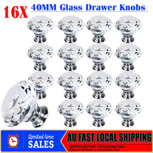 Hot-16x-40MM-Diamond-Crystal-Glass-Clear-Door-Cabinet-Drawer-Knobs-Handles-Pulls