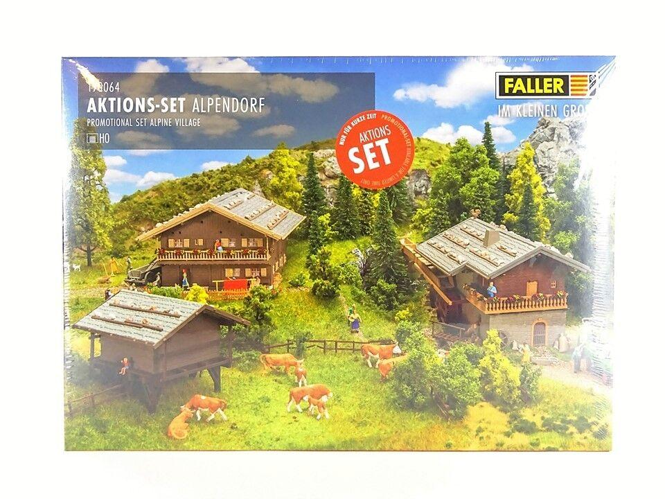 Faller H0 190064, Aktions-Set Aktions-Set Aktions-Set Alpendorf, neu, OVP 4ff346