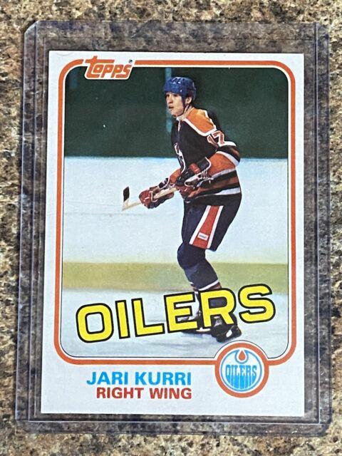 81-82 Topps Jari Kurri Rookie #18 - Edmonton Oilers