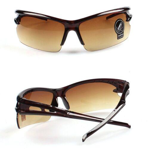 Mens Womens UV400 Cycling Driving Riding Glasses Sports Sunglasses Goggles