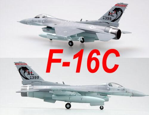 Easy Model 1//72 USAF F-16C 187th FW 88-0399-AL Plastic Fighter Model #37129