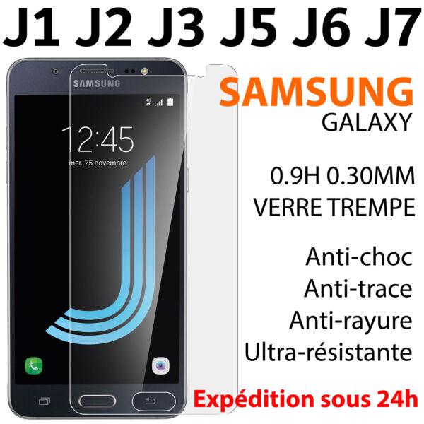 100% Vrai Vitre Protection Verre Trempe Film Ecran Samsung Galaxy J1/j3/j5/j6/j7 2016/2017 Fabrication Habile