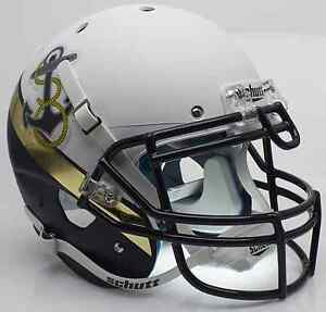 NAVY-MIDSHIPMEN-NCAA-Schutt-AiR-XP-Full-Size-AUTHENTIC-Football-Helmet
