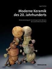 Fachbuch Moderne Keramik des 20. Jahrhundert Asshoff Bampi Griemert Kuhn uva