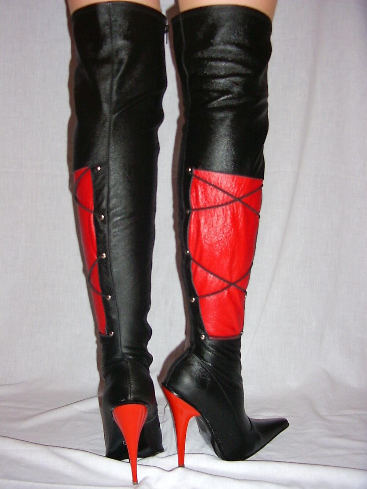 High heels,  stiefel  leder 100%  heels, -size 35-47 producer -Polen 193ac2