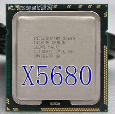 Free shipping Intel Xeon Six-Core X5680 SLBV5 3.33GHz 12MB 6.40GT/s LGA1366