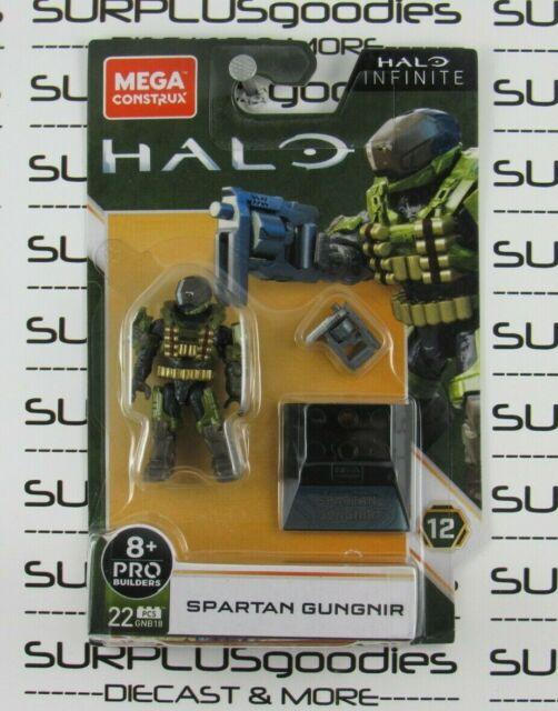 2020 MEGA Construx Halo Infinite SPARTAN GUNGNIR Heroes Series 12 #GNB18 22 Pcs