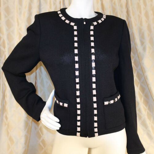 Blazer St Collection Elfenbein Woman mit John Strickjacke Black Tab UUBnqTOw