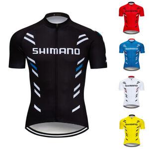 2019-Mens-Bike-Cycling-Jersey-Short-Sleeve-Tops-Bicycle-Shirt-Maillots-Pockets