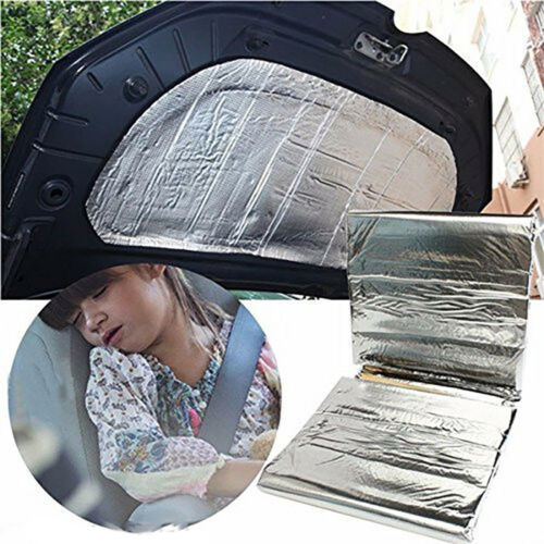 1*1.4m DIY Car Insulation Hood Shield Mat Exhaust Muff Cotton Pad Turbo NEW