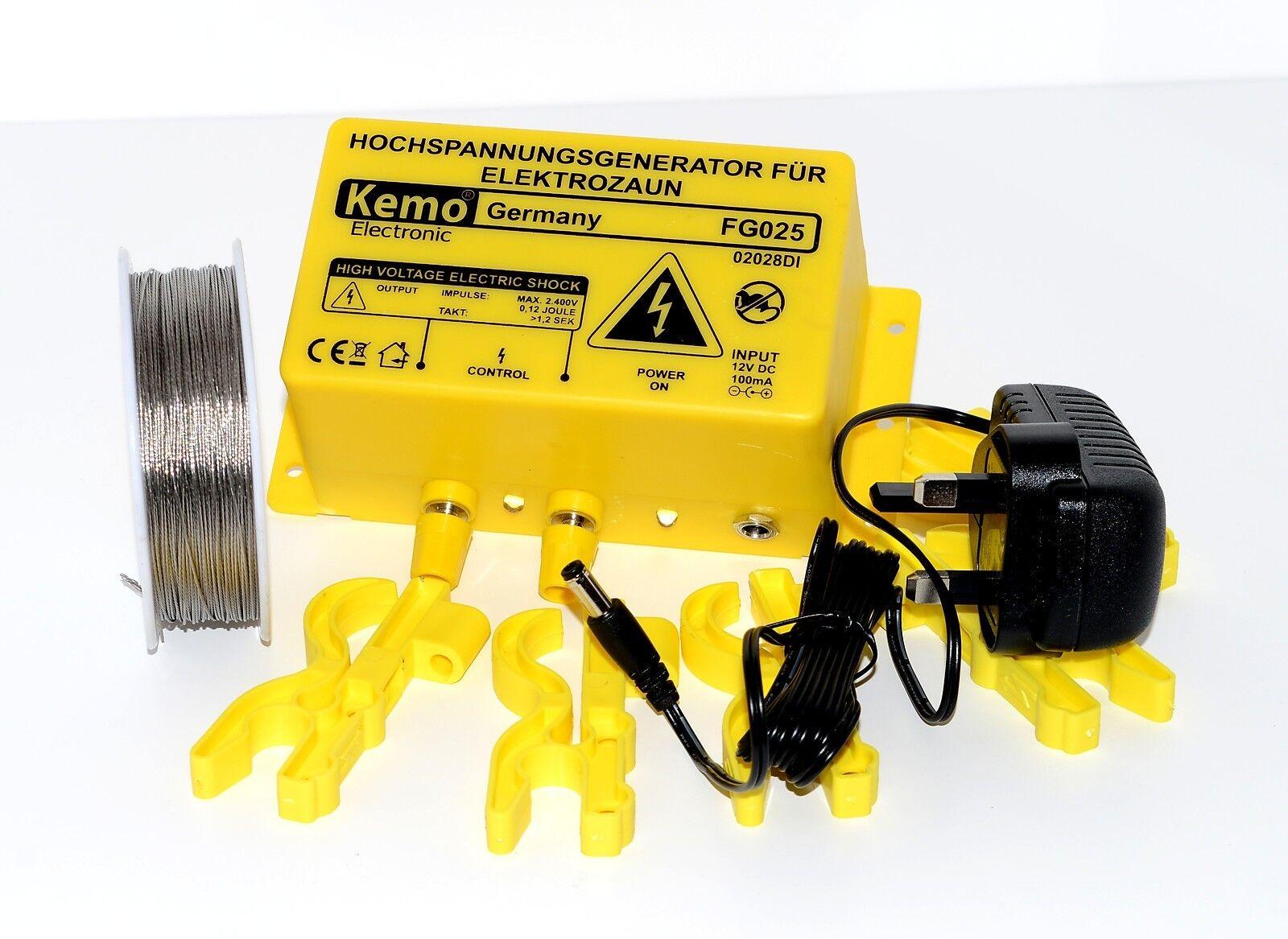 Eléctrica 12v valla dinamizador  Kit - 2400V-valla de seguridad dinamizador Kit (rojo)  preferente