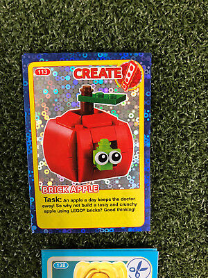 No 63 LEGO Sainsburys Create The World Incredible Inventions cards 063 all set