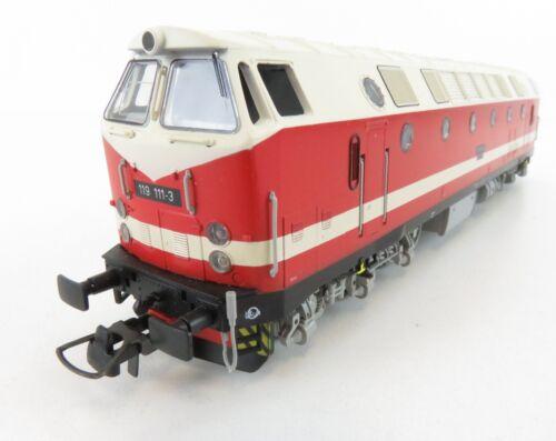 """1 von 1 - (SA024) Gützold 33200 Diesellok BR 119 111-3 der DR, digital """" 10 """", OVP"""