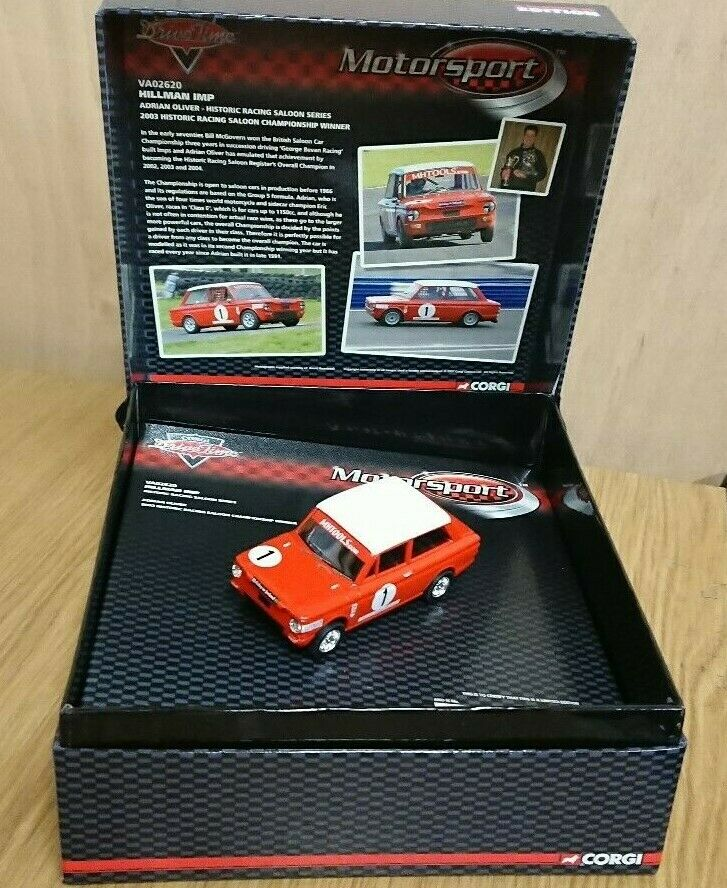 Corgi VA02620 Hillman Imp Historic Racing Saloon Series Ltd Edit No 0001 of 2000