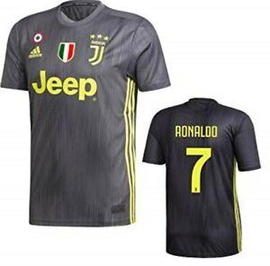 ADIDAS-RONALDO-JUVENTUS-3rd-JERSEY-2018-19-con-ITALIA-SerieA-loghi-GENUINE-New
