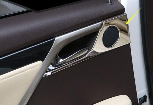 4PCS Interior Door Handle Decoration Cover Trim For Lexus RX200t 450H 2016