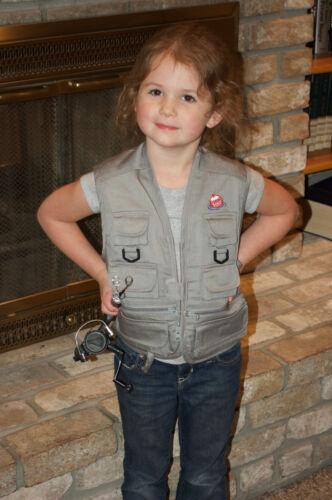 Pêche Kids ™ Outdoors Vest for Kids-Taille Unique