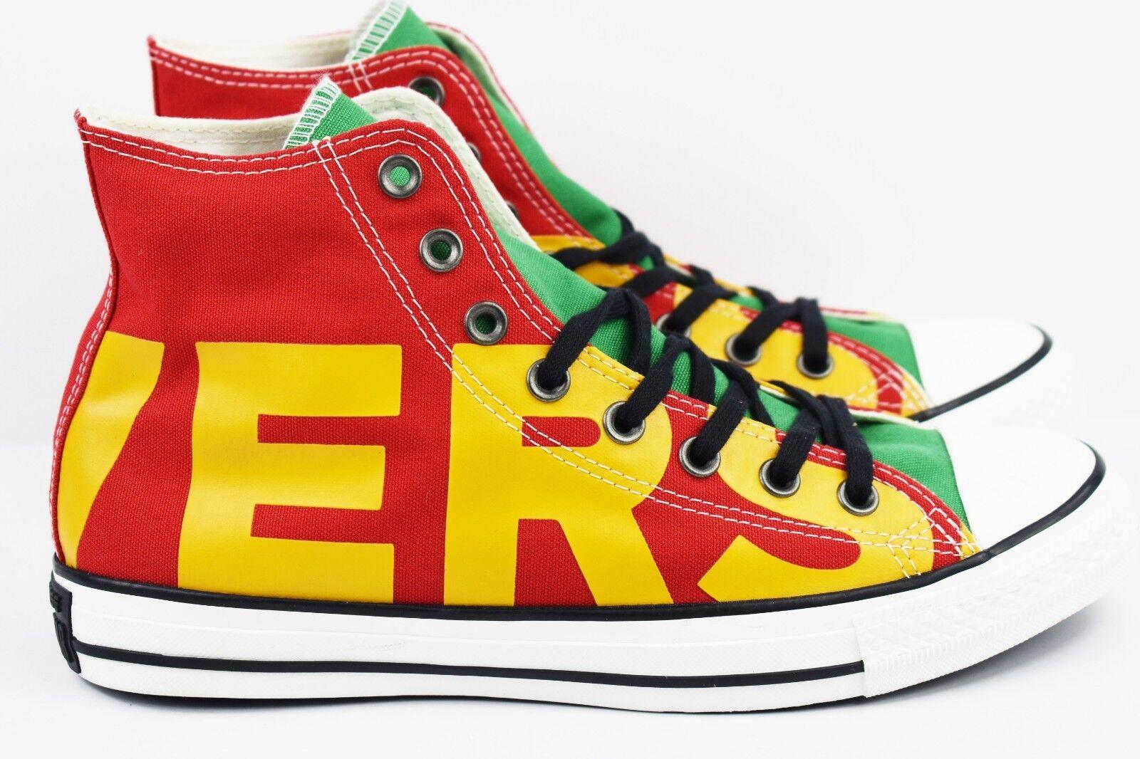 Converse Chuck Taylor All Star Wordmark Hi CTAS Uomo Multi Taglia 159534F Red