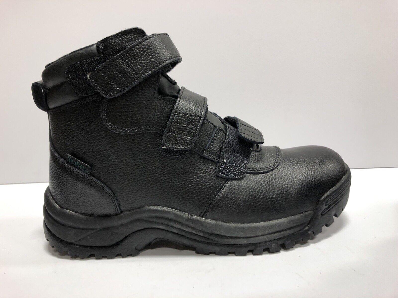 Propet, Cliff Walker Tall Strap Mens Boot Black 9.5 EEEEE