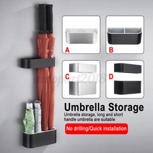 Easy-Install-Free-Drain-Umbrella-Rain-Stand-Storage-Holder-Rack-Bucket-A