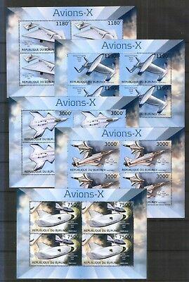 Blocksatz , 2012 Experimentalflugzeuge GroßEr Ausverkauf FäHig Burundi ** Flugzeuge