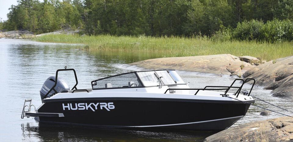 Finnmaster Husky R6 med Yamaha 115 HK påhængsmo...