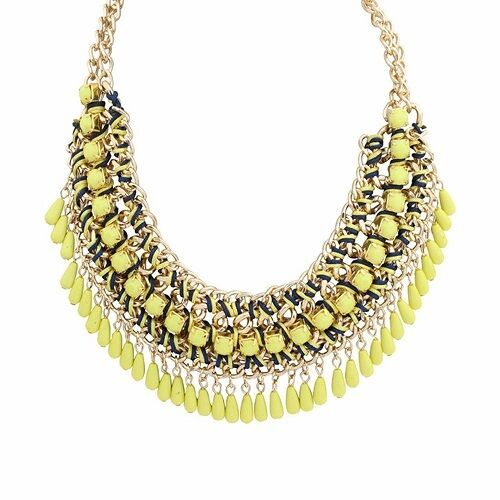 Gold Plated Knitted Shiny Necklace Chain Choker Fashion Jewelry Pendant Charm