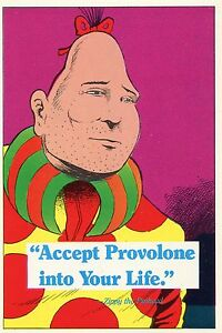 zippy the pinhead accept provolone into your life bill griffith art