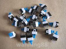 10 Pcs 7 x 7mm PCB Tact Tactile Push Button Switch Self Lock Latching 6 Pin DIP