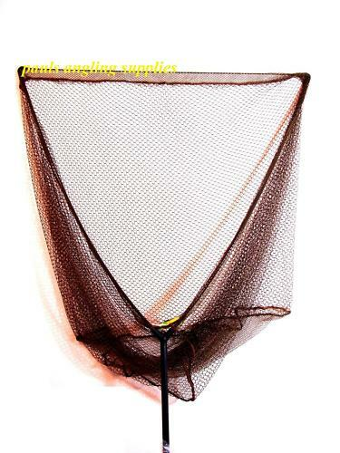 "Dinsmores Fishing Landing Net Head  40/"" /& Telescopic Handle"