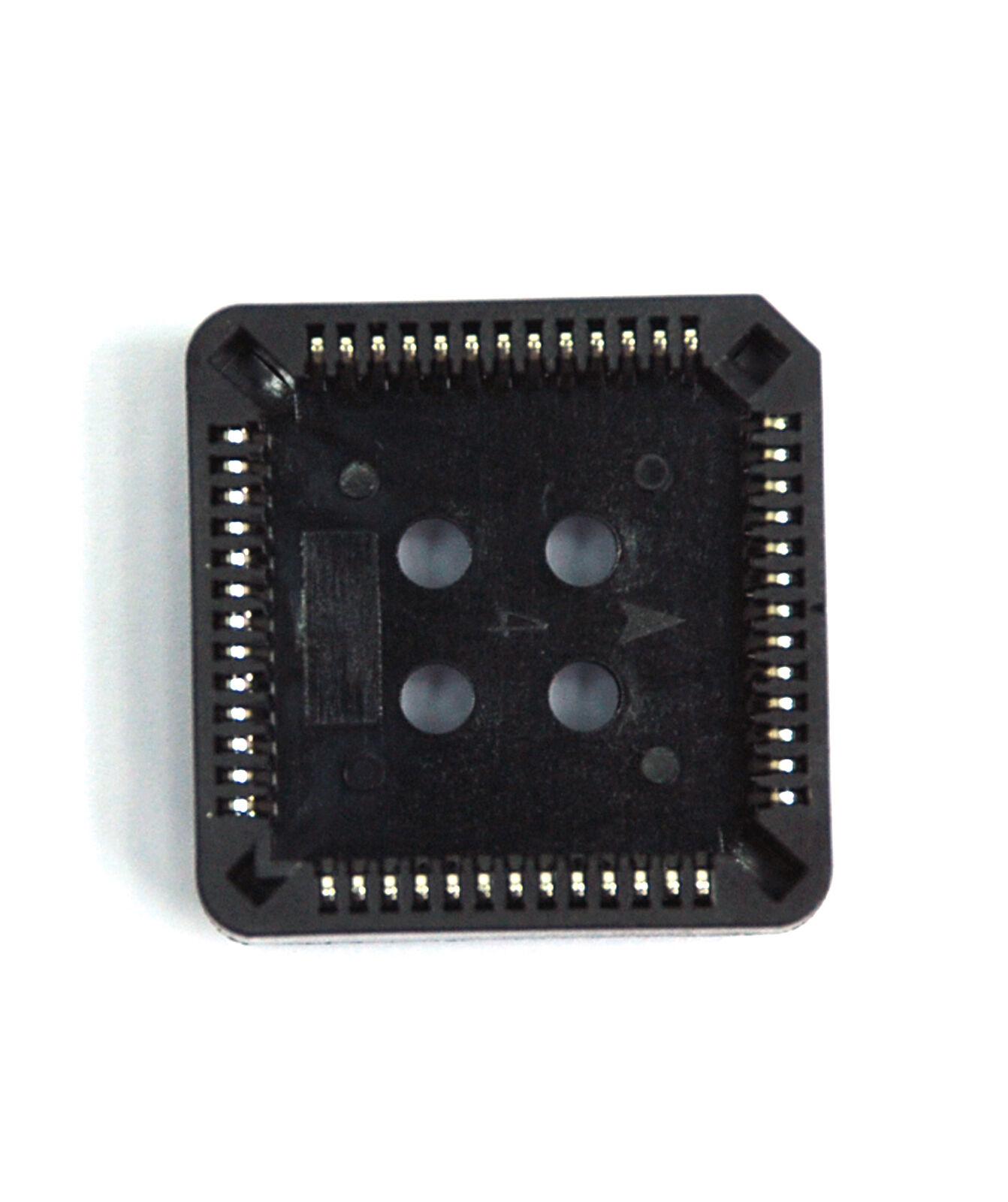 5pc PLCC DIP IC Socket 84P pitch= 1.27mm Tin plated RoHS Taiwan 260-84