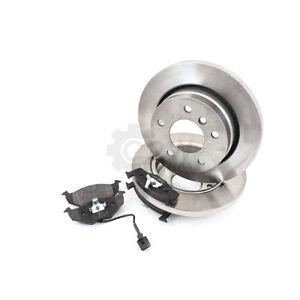 Brake-Discs-Brake-Pads-Rear-for-Toyota-Corolla-ZZE12-NDE12-ZDE12