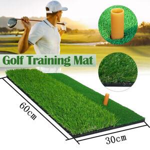 10-24-in-Golf-Trainingsmatte-Abschlagmatte-Drivingrange-Ubungsmatte-Indoor-Gruen