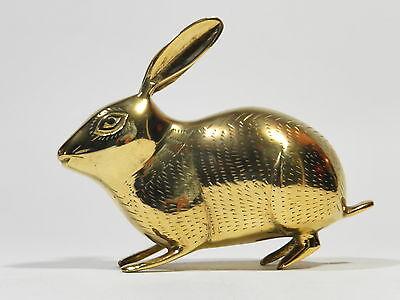 Brass Bunny Vintage Rabbit