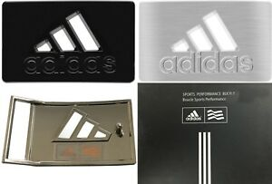 Adidas-Golf-Performance-Belt-Buckle-RRP-20-1st-Class-Post-Black-Or-Chrome
